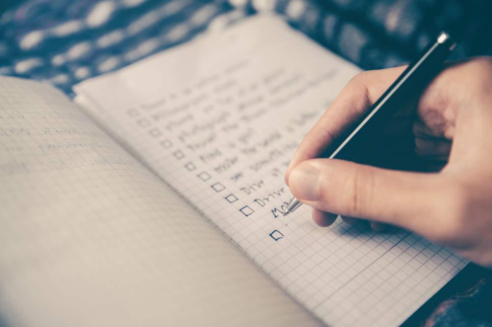 Scrivere fa bene al cervello: prendi appunti, scrivi la to do list