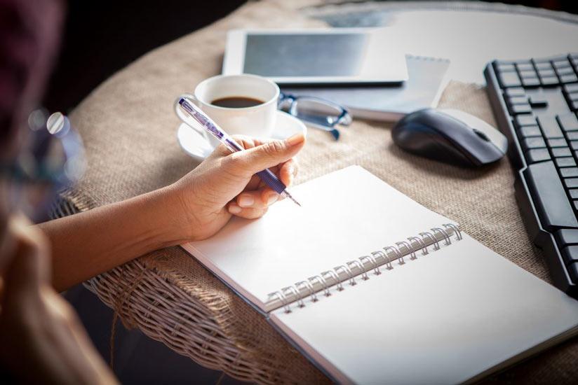 scrittura come autoanalisi e cura