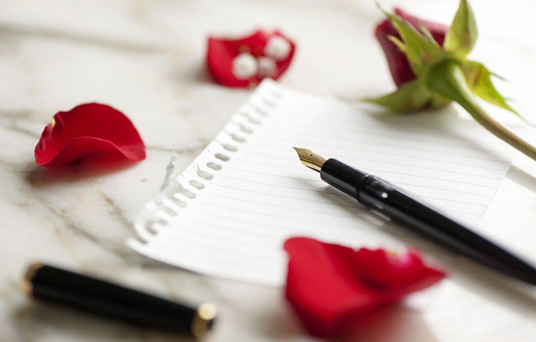 Scrivere lettere d'amore: una pratica da non trascurare